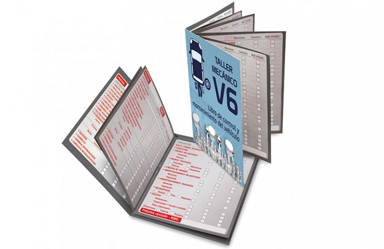 Libro Mantenimiento Vehículo BOOK